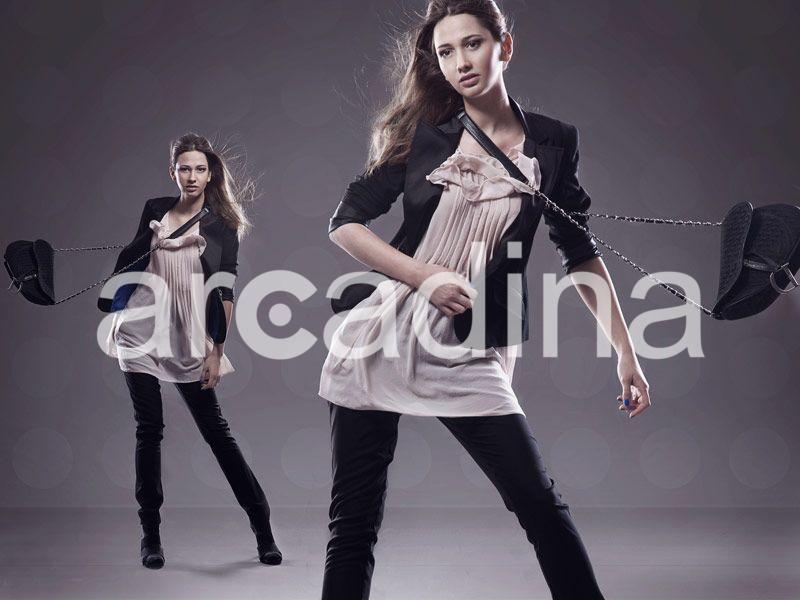 Arcadina - Website with blog for photographers